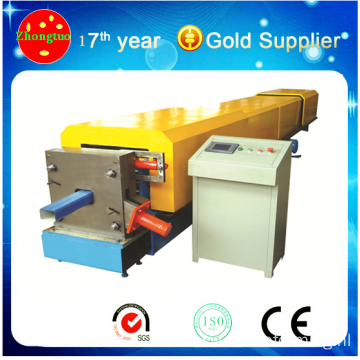 100 galvanized steel round downpipe machine / downspouts machine